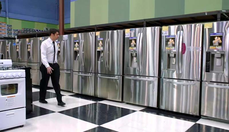 When we put that data onto Anton, the last thing he did before he died was back himself up onto a huge network of smart fridges.