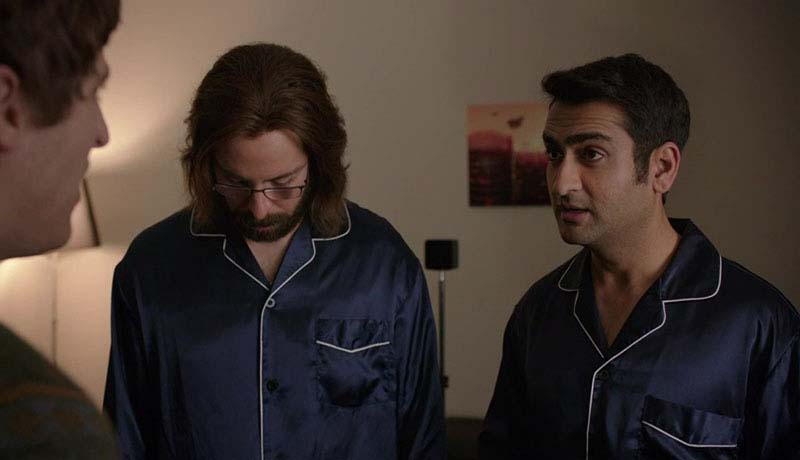 "Gilfoyle, ""rad""? You are wearing the exact same pajamas as Dinesh, and you"