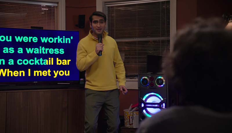 You were working as a waitress in a cocktail bar, when I met Jeff.